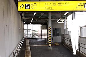 04:京成高砂駅の外