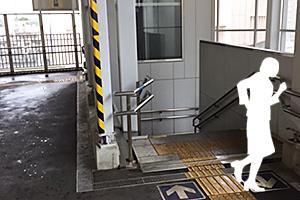 05:京成高砂駅の通路